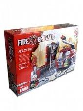 Lego Fire Brigade 133 Parça İtfaiye Seti