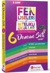 Fen Liseleri Ve Nitelikli Okullar Çözüm Kitapçıklı 12 Fasikül 6 Deneme Fencebir Yayınları