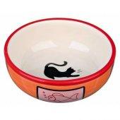 Trixie Kedi Porselen Mama Su Kabı 0,35lt 12,5cm