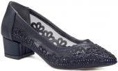 Gedikpaşalı Prk 9y 505 Siyah Bayan Ayakkabı Abiye