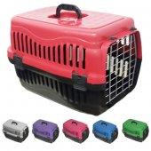 Plastik Kedi Köpek Taşıma Çantası