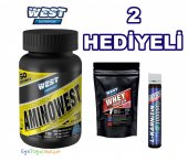 West Nutrition Aminowest 150 Tablet 50 Servis