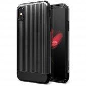 Vrs Design İphone X Shine Coat Kılıf Black