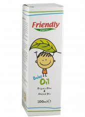 Friendly Orhanic Bebek Yağı 100 Ml