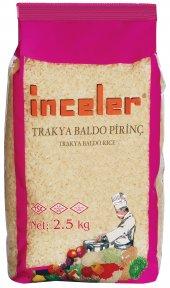 Inceler Trakya Baldo Pirinç 2,5 Kg