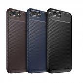 Edelfalke Apple İphone 8 Plus Negro Silikon Kılıf Siyah