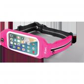 Ttec Easyfit Belt Telefon Cepli Bel Çantası Pembe Orta Boy 4.7