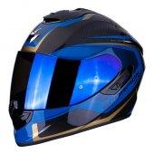Scorpion Exo 1400 Air Carbon Esprit Kapalı Motosiklet Kaskı (Siya