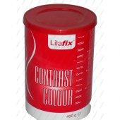 Lilafix Contrast Colour Kırmızı Toz Saç Açıcı 400gr