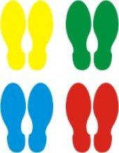 Ayak İzi Stıcker (Yer Etiketi)
