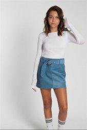 Amelia Uzun Kollu Beyaz Bluz