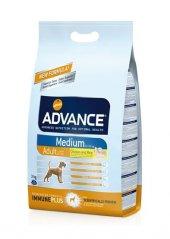 Advance Medium Adult Tavuklu Orta Irk Yetişkin Köpek Maması 3 Kg