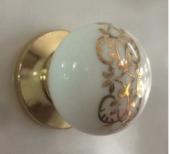 Porselen Altın Düğme Mobilya Dolap Kulpu