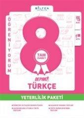 Bilfen Yayınları 8. Sınıf Türkçe Depar Yeterlilik Paketi