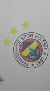 Fenerbahçe Hazır Taç Lisanslı Tül Perde