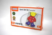 Ahşap Ayı Sök Tak Eğitici Zeka Geliştiren Oyuncak Montessori Mete
