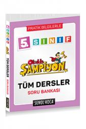 şenol Hoca 5.sınıf Okulda Şampiyon Tüm Dersler Soru Bankası
