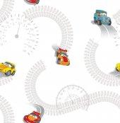 Milky Baby 435 1 Araba Görünümlü Çocuk Odası Duvar Kağıdı