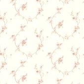 Truva 8609 2 Çiçekli Duvar Kağıdı