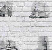 Pop Art 512009 Galata Kulesi Desenli Duvar Kağıdı