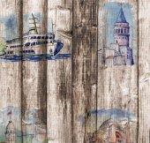 Pop Art 512012 İstanbul Temalı Duvar Kağıdı