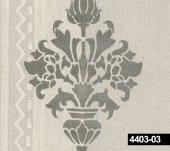 Crown 4403 03 Damask Motifli Duvar Kağıdı