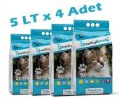 Benty Sandy Marsilya Kokulu (5tlx4 Adet) Kedi Kumu (Kalın Taneli)