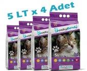 Benty Sandy Lavanta Kokulu (5tlx4 Adet) Kedi Kumu (Kalın Taneli)