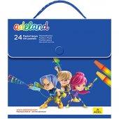 Adeland 24 Lü Pastel Boya Takımı Lisanslı