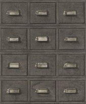 Crispy Paper 524017 Çekmece Desenli Duvar Kağıdı