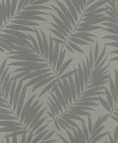 Barbara Home 527568 İthal Yaprak Desenli Duvar Kağıdı