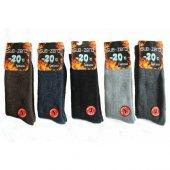 Yün Kalın Termal Erkek Çorap 5ad 20 Dereceye Kadar