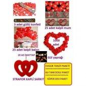 Romantik Aşk Paketi Sevgiliye Özel Evlilik Teklif Paketi