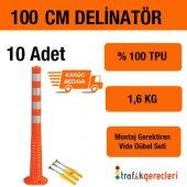 Esnek Şerit Ayırıcı Delinatör 100 Cm (10 Adet)