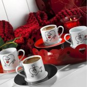 Kütahya Ru04kt42010160 Ruya 2li Kahve Fincanı (10160)