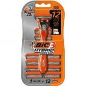 Bic Hybrid3 Extra Life 12li Tıraş Makinası