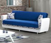 Kardelen Kanepe Mavi (Sandıklı Ve Yataklı)