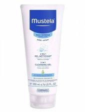 Mustela Sabun İçermeyen Saç Ve Vücut Şampuanı 200ml