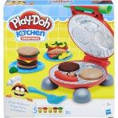 Play Doh Kitchen Creatıons Burger Barbekü Oyun Ham...