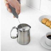 Pilli Mini El Mikser Kahve Cappuccino Karıştırıcı Köpürtücü