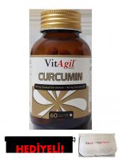 Vitagil Gold Curcumin 60 Jel Kapsül (Zerdeçal + Koenzim Q10)
