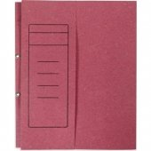 Folder Büro Dosyası Yarım Kapak Pembe 50&#039 Li Paket