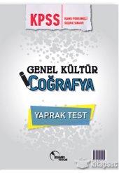 2018 Kpss Genel Kültür Coğrafya Yaprak Test Doktrin