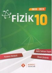 10.sınıf Fizik Kazanım Merkezli Soru Bankası Seti Sonuç Yayınları