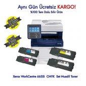 Xerox Workcentre 6655i 1 Set Muadil Toner Cmyk
