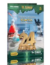 Sınav Yayınları 11. Sınıf Kimya 24 Adımda Özel Konu Anlatımlı Sor