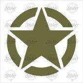 Askeri Yıldız Sticker 22004