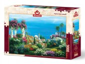 Art Puzzle Sahil Kasabası 3000 Parça Puzzle