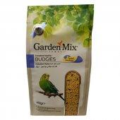 Gardenmix Platin Seri Soyulmuş Muhabbet Kuş Yemi 400 Gr (5 Adet)