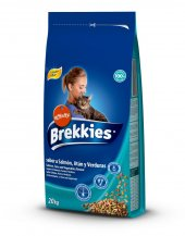 Brekkies Mix Somonlu Ton Balıklı Yetişkin Kedi Mam...